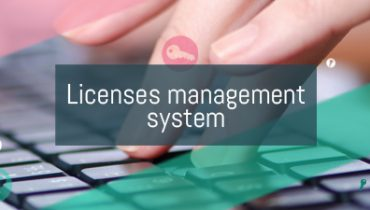 Licenses management system