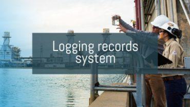 Logging records system
