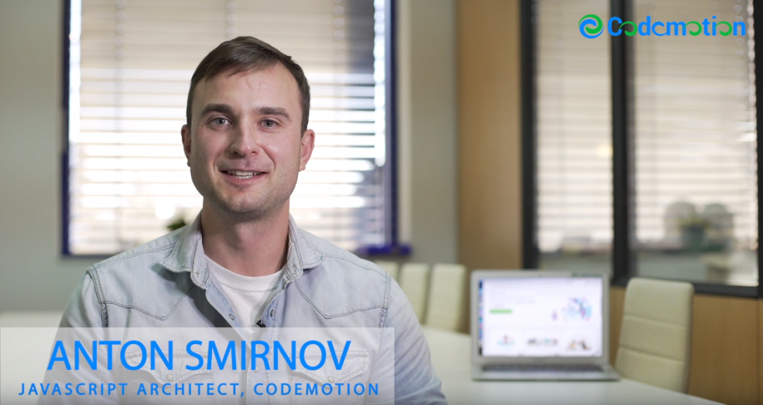 Anton Smirnov – JavaScript Architect, Codemotion