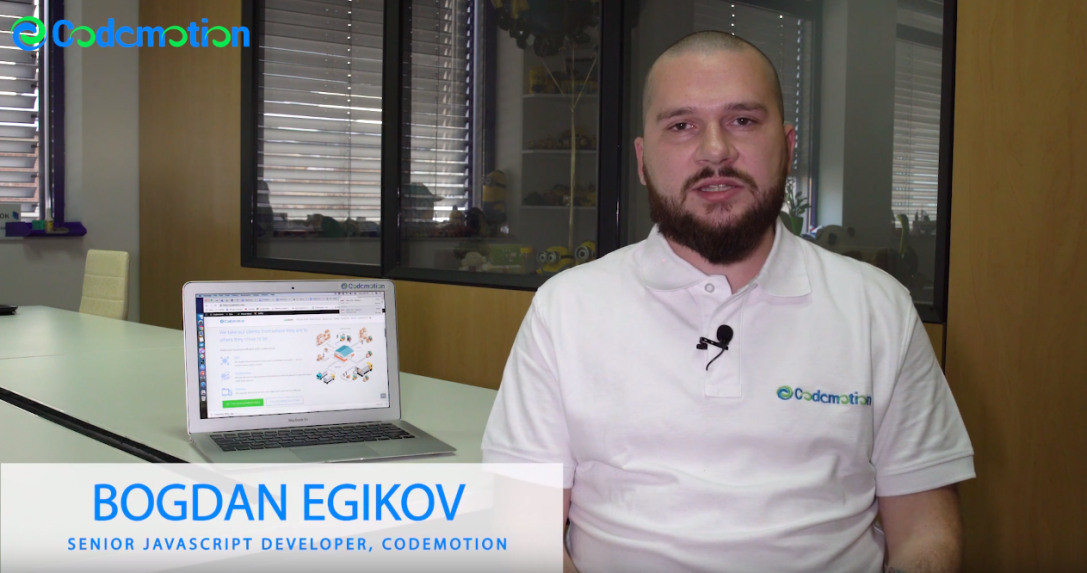 Bogdan Egikov – Senior JavaScript Developer, Codemotion