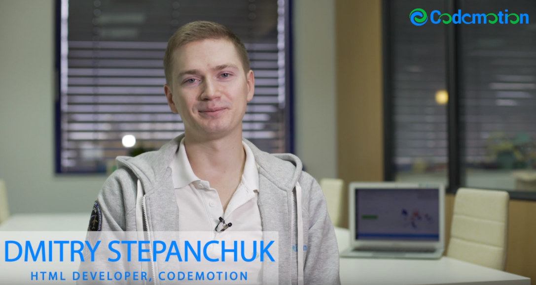 Dmitry Stepanchuk – HTML Developer, Codemotion