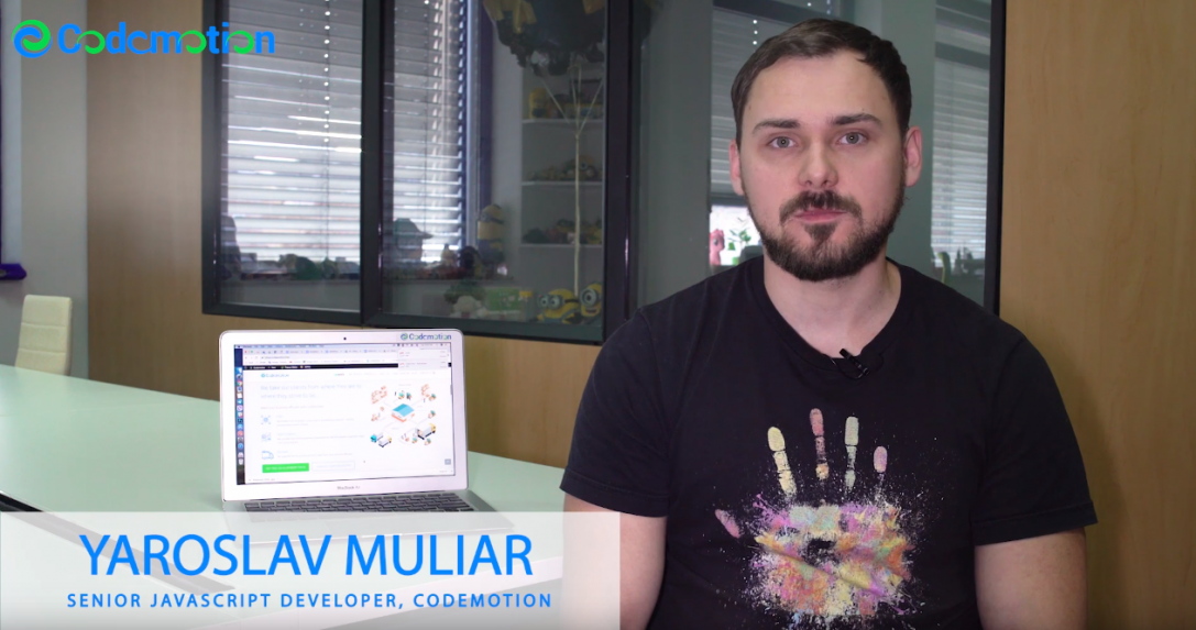 Yaroslav Muliar – Senior JavaScript Developer, Codemotion