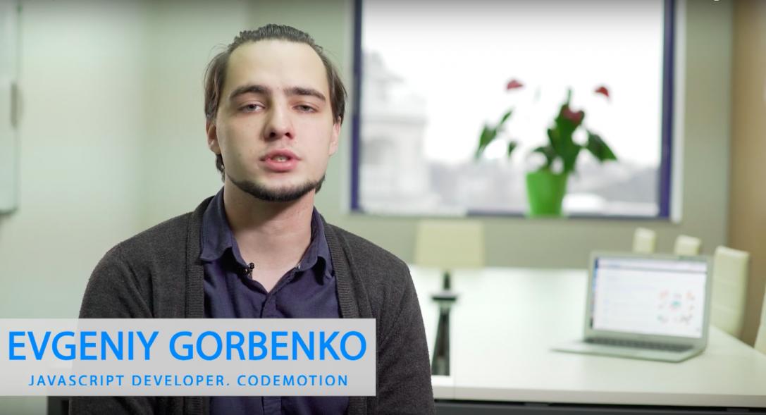 Evgeniy Gorbenko – JavaScript Developer, Codemotion Ninjas