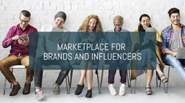 Marketplace for brands and influencers