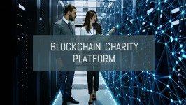 Blockchain charity platform